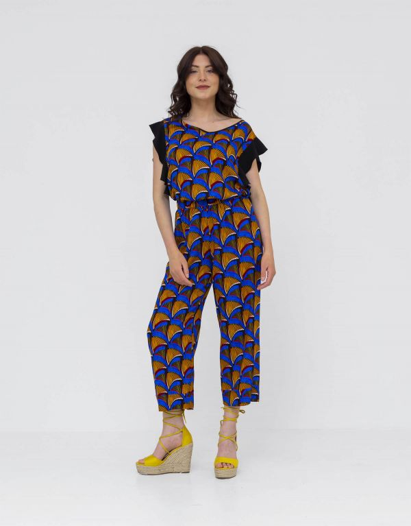 Pantalone cropped in...