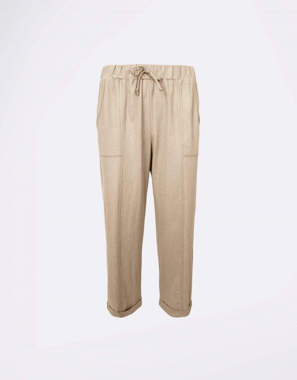 Pantalone in viscosa lino