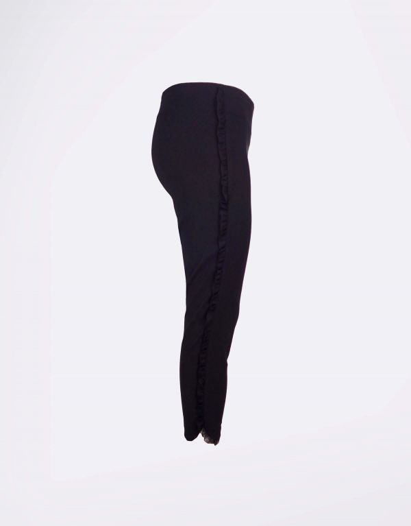 Pantalone in bengalina con...
