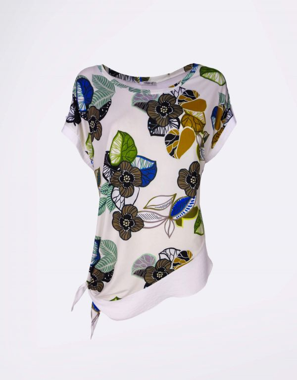 T-shirt fantasia in viscosa...