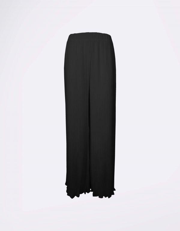 Pantalone morbido plissé