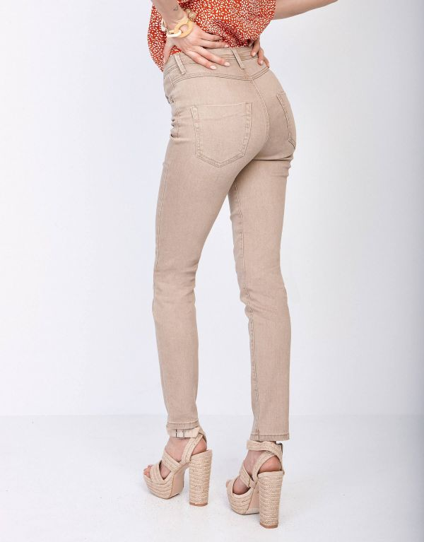 Jeans in cotone 5 tasche